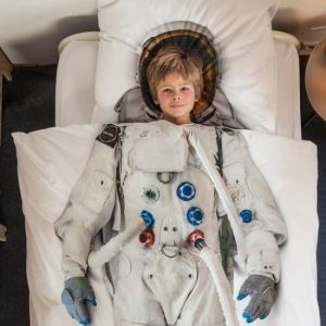 Posteljine za djecu astronaut