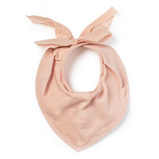 Pamučni slinček Powde Pink