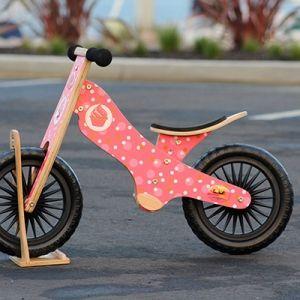 Kinderfeets Retro Cupcakes drveni bicikl