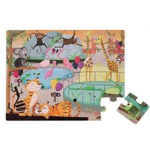 zoo slagalica puzzle za djecu