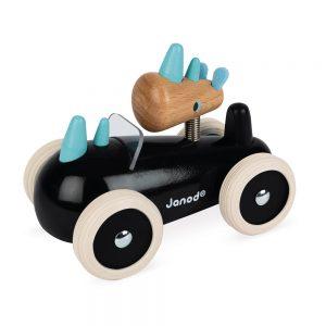 retro drveni autić ua djecu