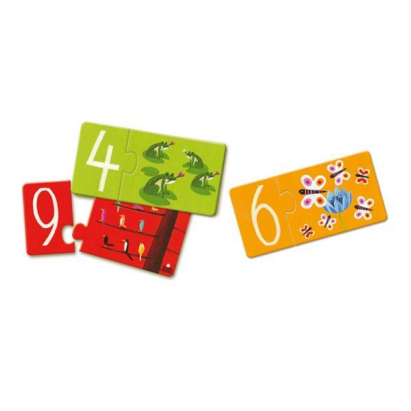 puzzle brojevi slikovnica