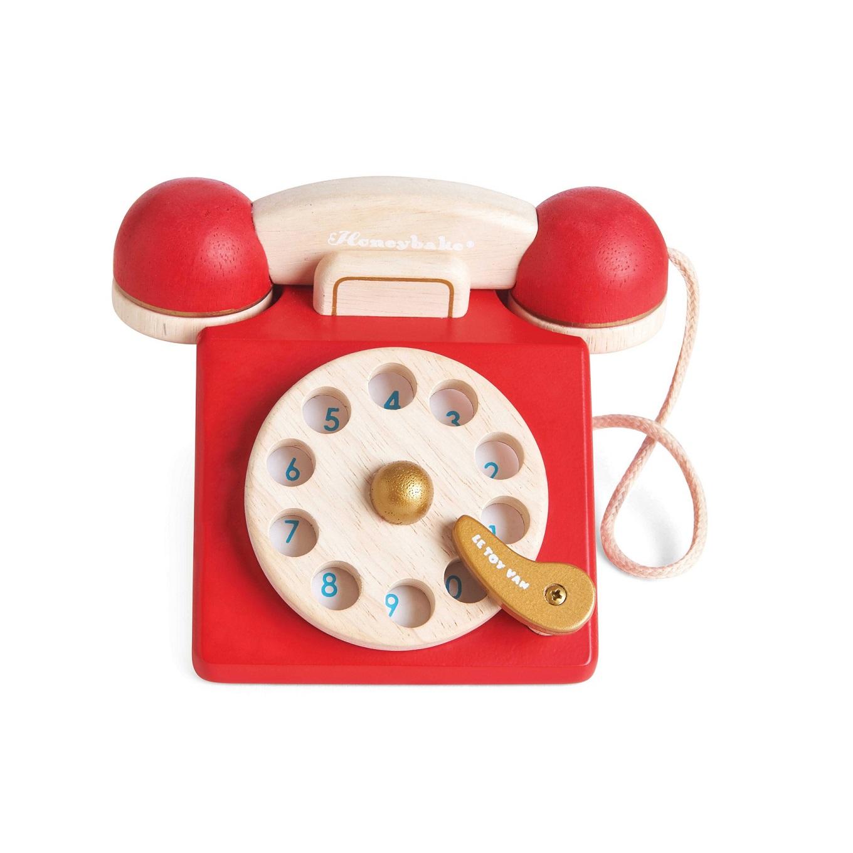 Vintage Telefon Drvene Igracke Za Djecu Web Shop Za Bebe