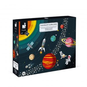 Janod Edukativne Puzzle Sunčev sustav