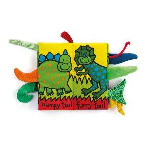 Jellycat-Mekana-knjiga-Dinosaur