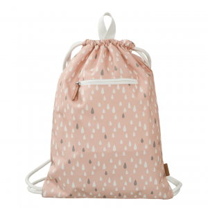 Fresk sportska torba Kapljice kiše - roza