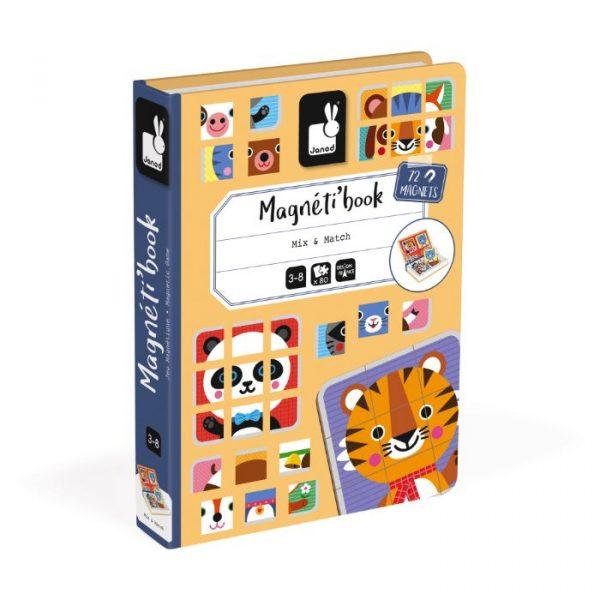 Janod Kutija s magnetima - Mix & Match