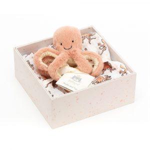 Jellycat Odell Hobotnica Poklon pakiranje (1)
