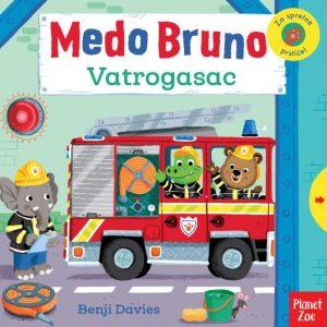 Medo Bruno - Vatrogasac Interaktivna slikovnica